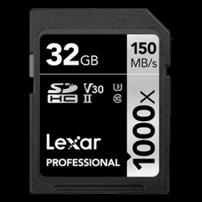 Thẻ nhớ Lexar® 1000x SDHC™/SDXC™ UHS-II Cards